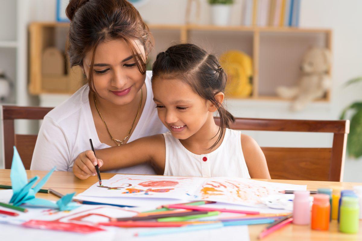 Traitement de psychothérapie avec un enfant