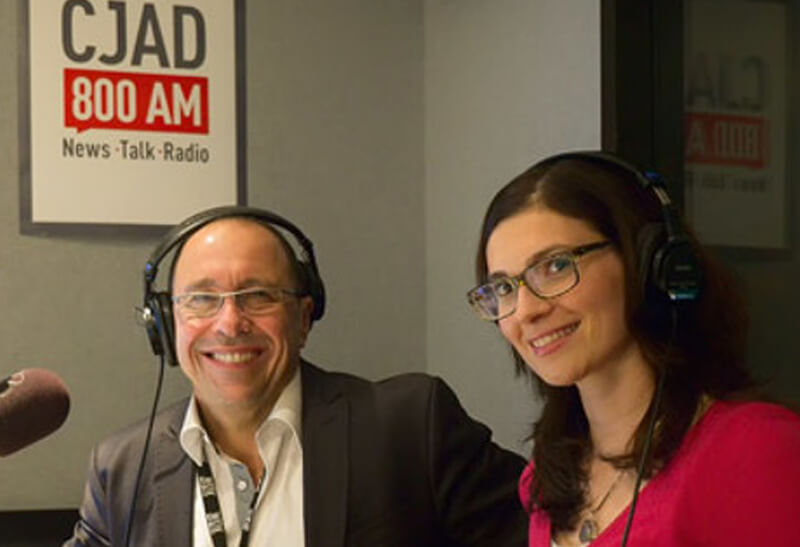 Dr Syd Miller and Dr Emily Blake CJAD Radio